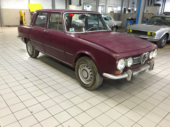 Alfa Roméo 1750 Berlina 1ère série