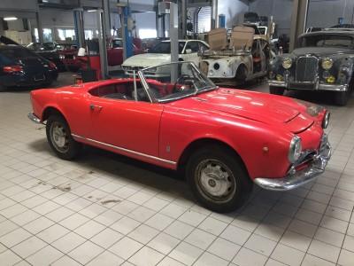 Alfa Roméo Giulia Spider 1600