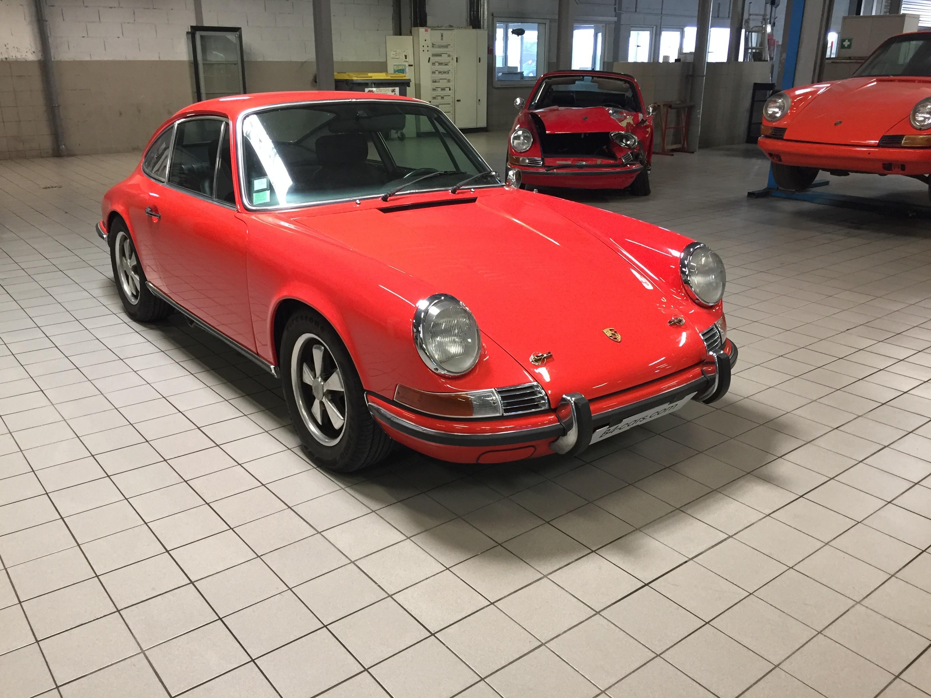 Porsche 911 2 litres S de 1969